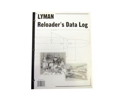 Lyman Reloaders Data Log 9847261