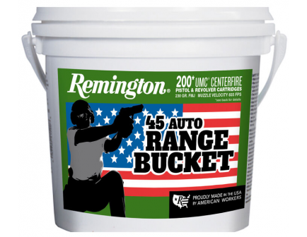 Remington UMC .45 Auto 230 Grain FMJ Ammo, 200 rds - 23817