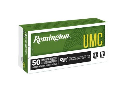Remington UMC Handgun 124 gr FMJ 9mm Ammunition, 50 Rounds