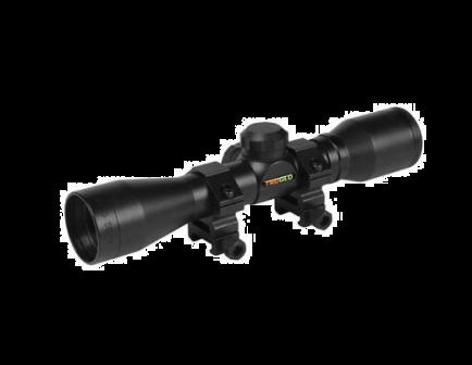 Tru Glo Rimfire Scope 4X32 W/ 3/8 RINGS BLK
