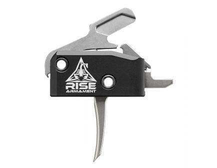 Rise Armament RA 434 Performance Single Stage AR Platform Flat Trigger | Silver