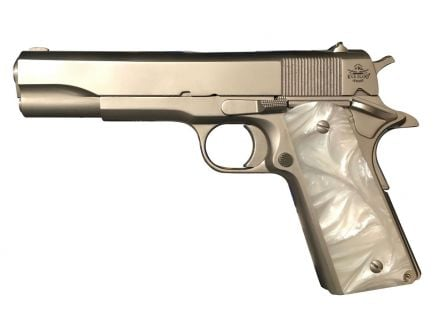Rock Island Armory GI Standard 1911 California Compliant .45 ACP Pistol | Mother of Pearl