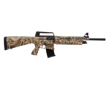 Rock Island Armory VR60 Semi Automatic 12 Gauge Shotgun, Realtree Max 5