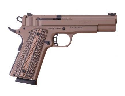 Rock Island Armory XT22 .22 WMR 1911 Pistol, FDE