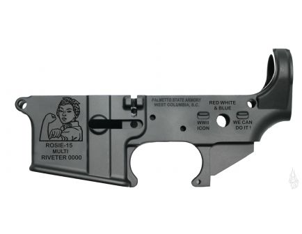 "PSA ""ROSIE-15"" AR-15 Stripped Lower Receiver"