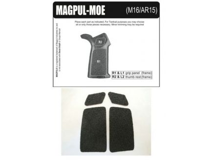 Decal Grips MagPul MIAD Grip Only Rubber-Black MIADR