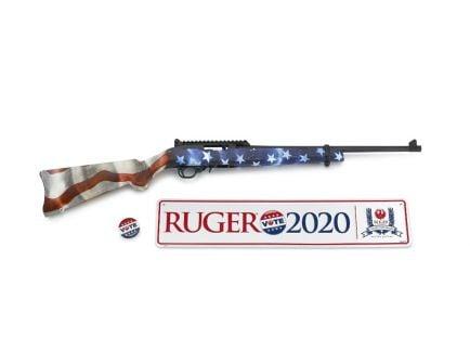 Ruger 10/22 Vote Semi-Auto .22 LR Rifle, American Flag