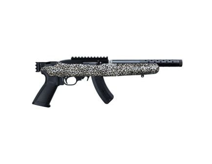 Ruger 10/22 Charger Takedown .22 LR Pistol, Leopard Print