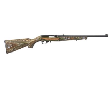 Ruger 10/22 Gator .22 LR Rifle, Engraved Green Stock