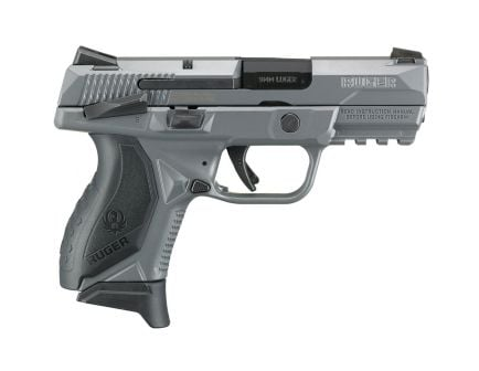 Ruger American Compact 9mm Pistol, Gray Cerakote