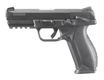 Ruger American Duty 10 Round 9mm Pistol, Black