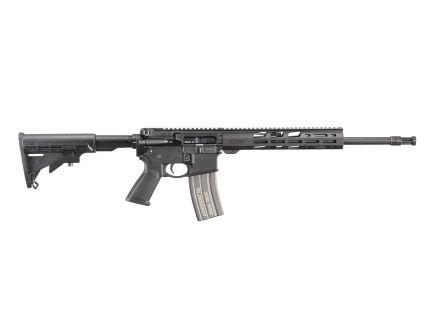 Ruger AR-556 Free Float .300 Blackout AR-15 Rifle, Black