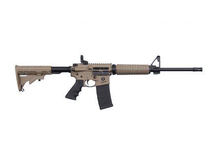 """Ruger AR556 16"""" 5.56x45 AR-15 Rifle, FDE"""