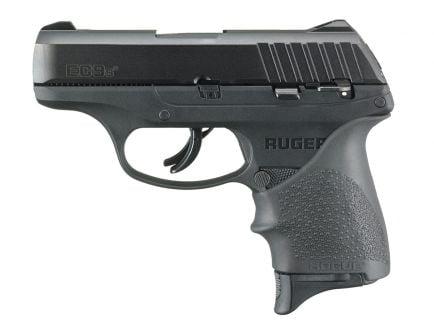 Ruger EC9S 9mm Pistol With Hogue Grip, Black