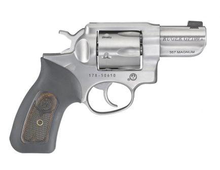 "Ruger GP100 2.5"" .357 Magnum Revolver | Satin Stainless"