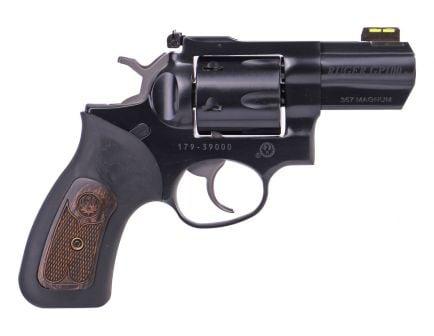 """Ruger GP100 Carry 3"""" .357 Magnum Revolver, Black"""