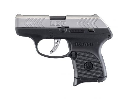 "Ruger LCP .380 ACP 2.75"" Pistol, Two Tone"