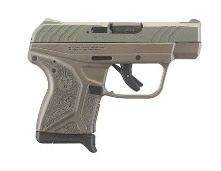 Ruger LCP II .380 ACP Pistol, Jungle Green