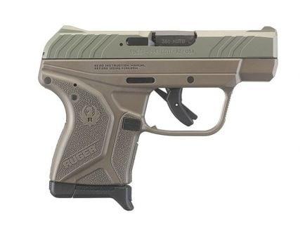 Ruger LCP II .380 ACP Pistol, Jungle Green