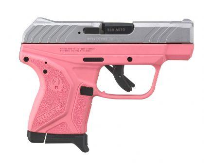 Ruger LCP II .380 ACP Pistol, Pink/Aluminum