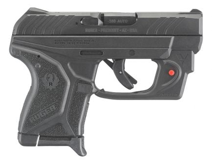 Ruger LCP II .380 ACP Pistol with Viridian Laser, Black