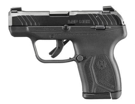 Ruger LCP Max Micro Compact .380 ACP Pistol, Black