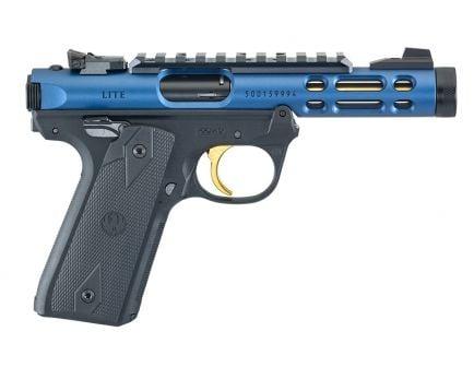 Ruger Mark IV 22/45 Lite TB .22 LR Pistol With Gold Trigger For Sale