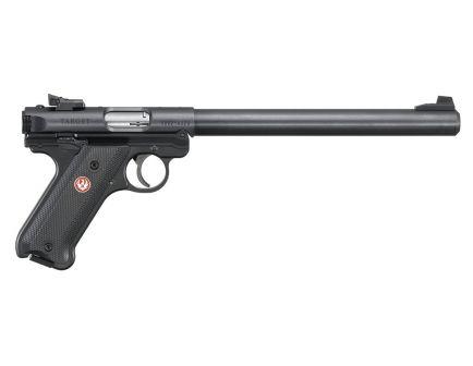 """Ruger Mark IV Target .22 LR 10"""" Pistol, Blued"""