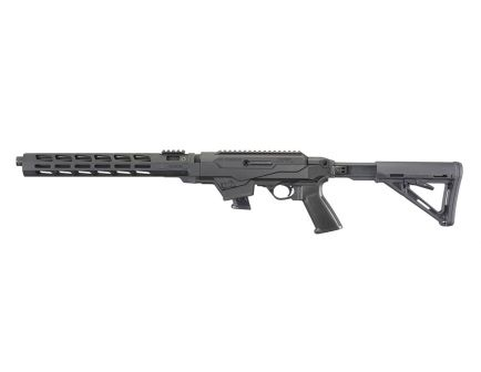 Ruger PC Carbine Takedown Chassis 10 Round 9mm Rifle, Black