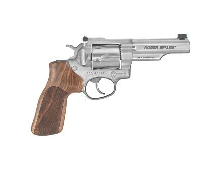 "Ruger GP100 Match Champion .357 Magnum 4"" Stainless Steel Revolver - 1755"