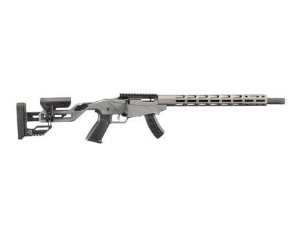 "Ruger Precision Rimfire 18"" Bolt Action .22 LR Rifle, Gray"