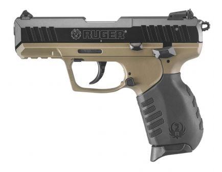 Ruger SR22 .22 LR Pistol, Flat Dark Earth