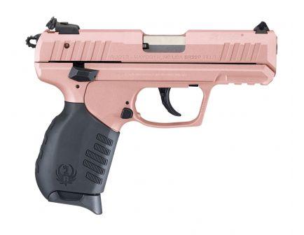 """Ruger SR22 3.5"""" .22 LR Pistol, Rose Gold"""