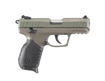 Ruger SR22 Semi Automatic .22 LR Pistol, Jungle Green