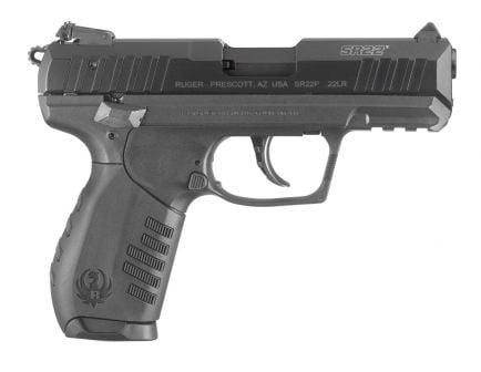 Ruger SR22 Talo .22 LR Pistol, Blued