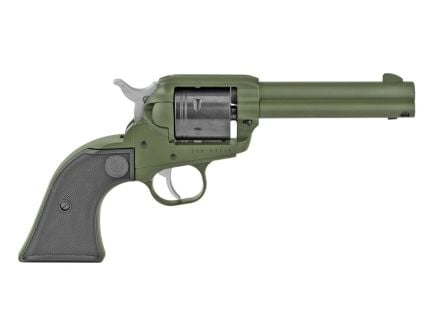 Ruger Wrangler .22 LR Single Action Revolver, OD Green