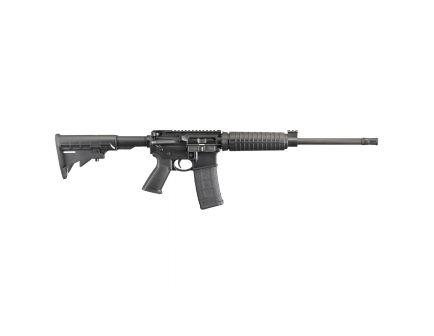 """Ruger AR-556 5.56 NATO 16.10"""" Rifle, Black - 8525"""