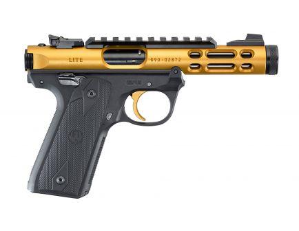 Ruger Mark IV 22/45 LITE .22LR Gold & Black Target Pistol - 43926