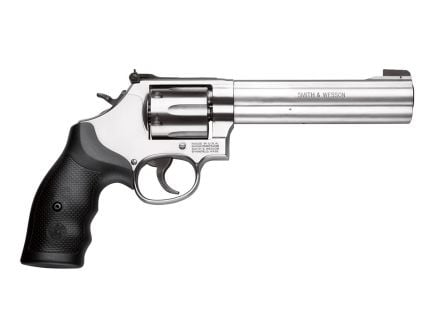 "S&W 686 Partridge Sight 6"" .357 Magnum Revolver, Satin Stainless - 150844"