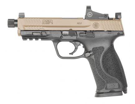 S&W M&P 2.0 OR Spec Series Kit 9mm Pistol, FDE/Black