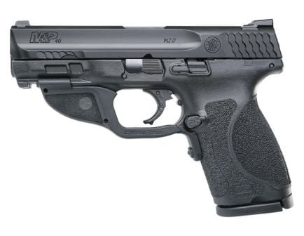 S&W M&P 2.0 Compact .40 S&W Pistol With Green Laser, Black