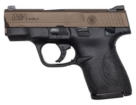 S&W M&P Shield 9mm Pistol, Midnight Bronze