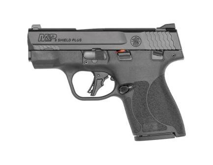 S&W M&P Shield Plus 9mm Pistol With 10 lb Trigger, Black