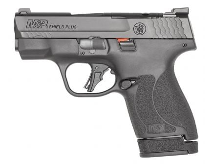 S&W M&P Shield Plus Optics Ready 9mm Pistol, Black