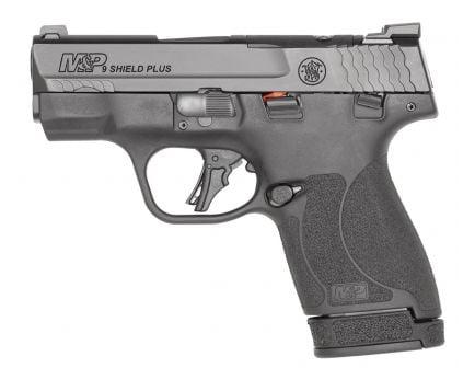 S&W M&P Shield Plus Thumb Safety Optics Ready 9mm Pistol, Black