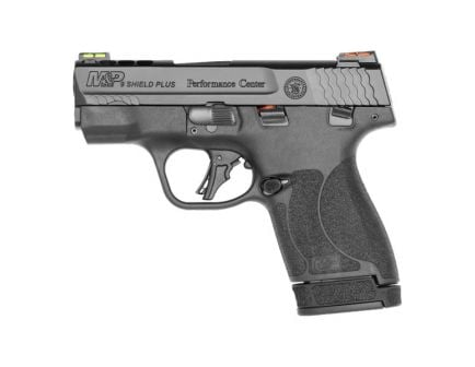S&W Performance Center Shield Plus 9mm Pistol With Thumb Safety, Black