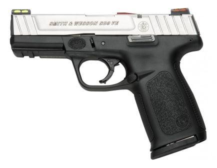 S&W SD9VE Hi Viz 9mm Pistol, Two Tone