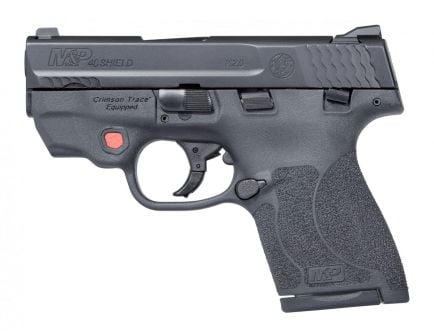 S&W Shield .40 S&W Pistol With Laser, Black