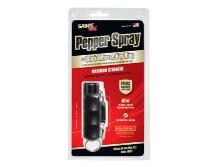 Sabre Pepper Spray Max Strength, Black - HC-14-BK-US