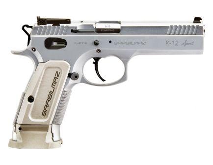 SAR USA K-12 Sport 9mm Pistol, Stainless Steel